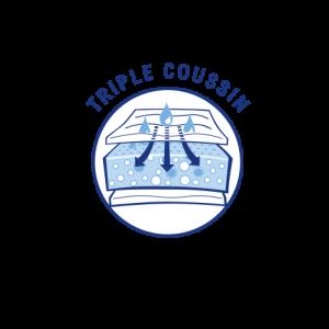 triple coussin
